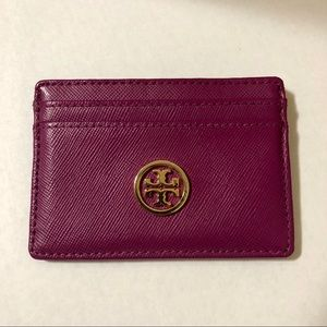 EUC Tory Burch credit card wallet